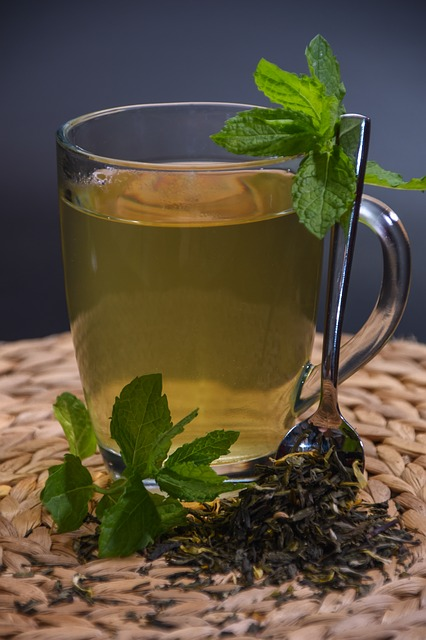 mint tea - colds - chinese medicine